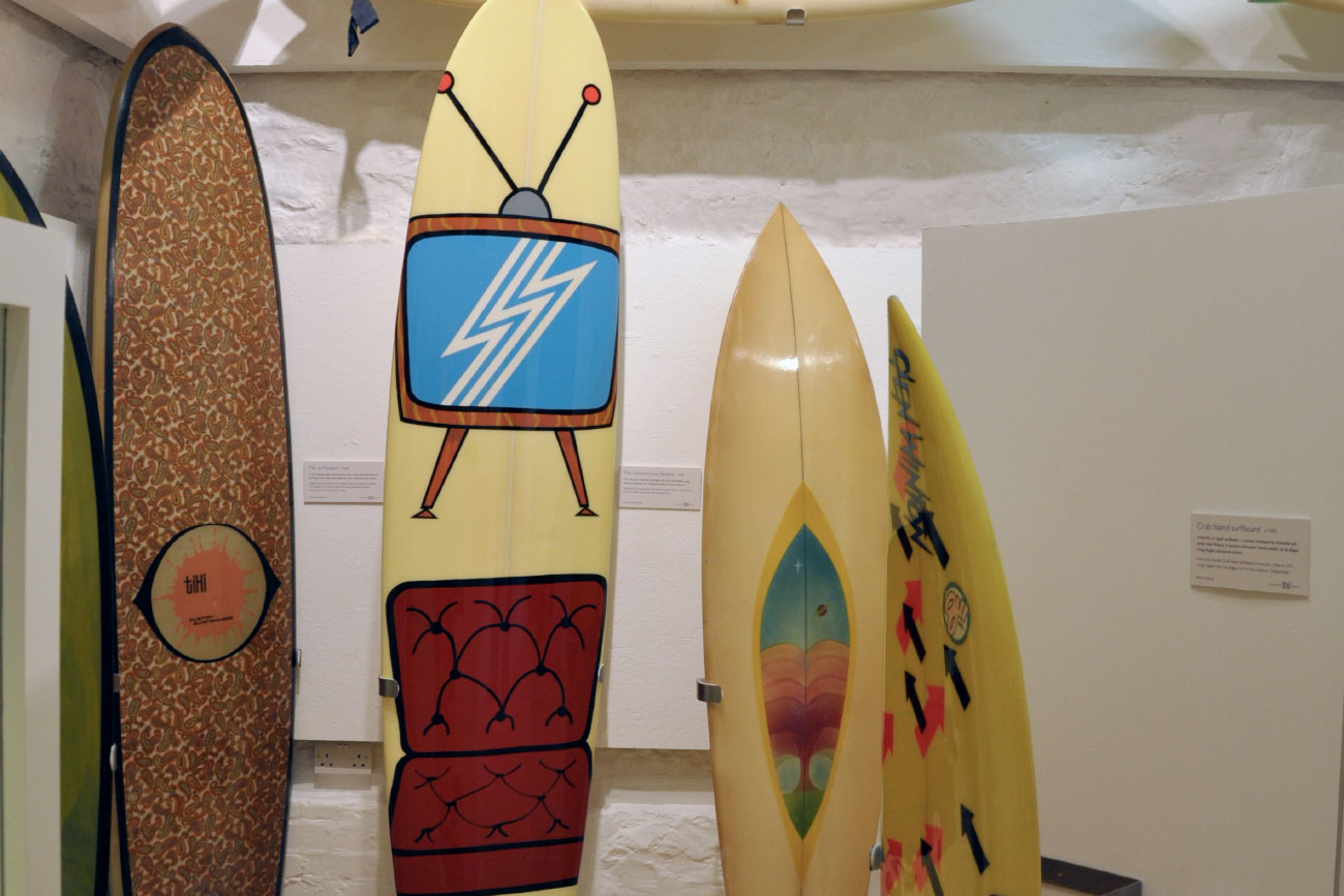 History of Surfboards, British Museum of Surfing